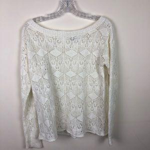 Forever 21 | Crochet Top | Size Medium